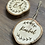 Thumbnail: Personalised Small Wooden Christmas Tree Decoration (7-9cm)