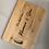 Thumbnail: Personalised Bamboo Wooden Chopping Board