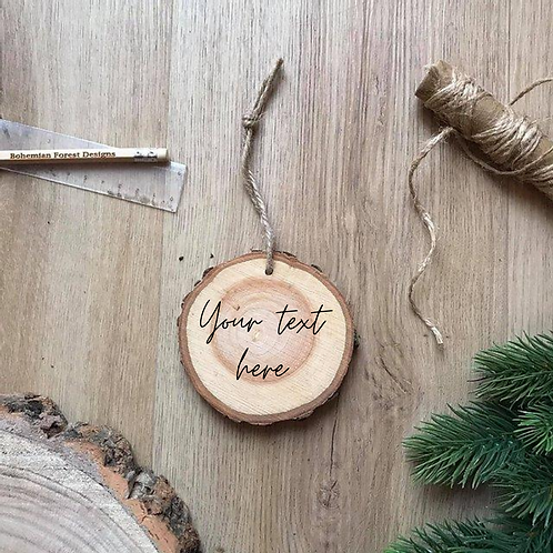 Small - Create your own Wood Slice (9cm)