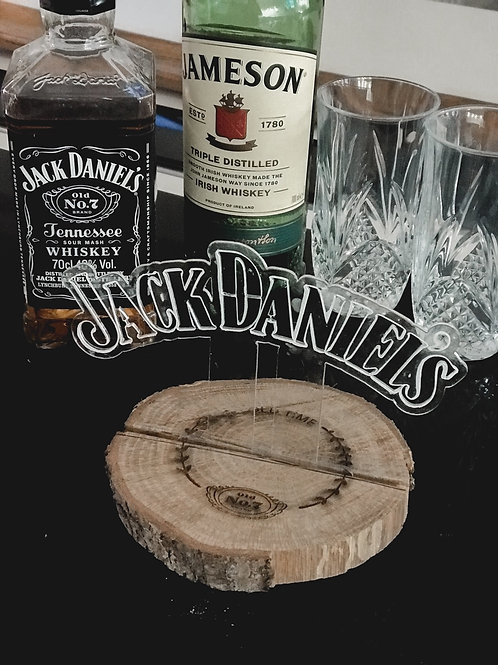 Hand Painted Custom Sign (18cm) (Personalised or Cocktail Bar)