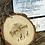 Thumbnail: Medium Giraffe Family or Kids Room Wood Slice (13cm)