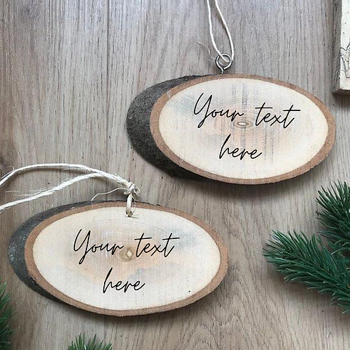Exclusive - Create your own Wood Slice (13-14cm)