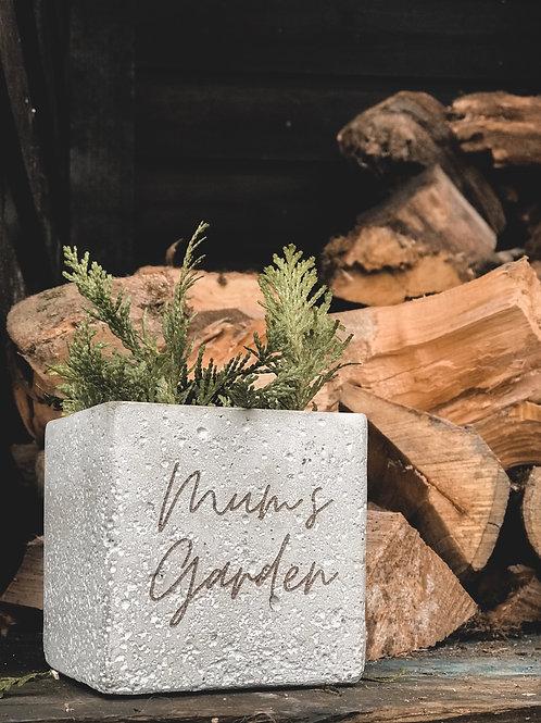 Personalised Ceramic Plant Pot (10cm)
