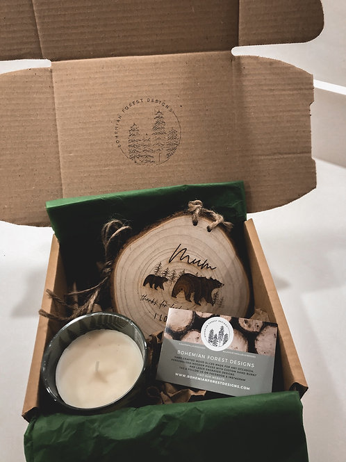 Mother's Day Woodland Gift Box