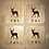 Thumbnail: 4 x Wooden Coasters (Can be Personalised)