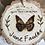 Thumbnail: Personalised Memorial Wood Slice (M or L)