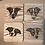 Thumbnail: 4 x Bespoke Portrait Coasters