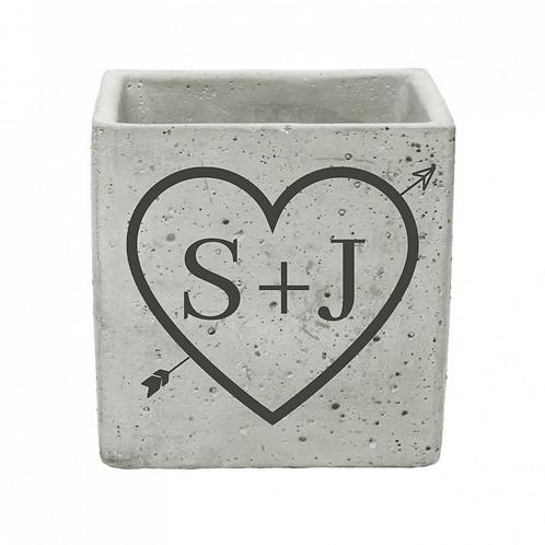 Valentine's Personalised Ceramic Pot (10cm)