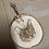 Thumbnail: Small Pet Portrait Wood Slice (8-9cm)