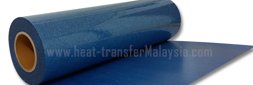 Lt. Blue - Glitter / Flake Heat Transfer Vinyl