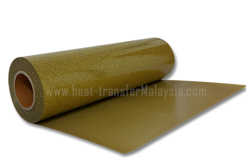 Gold - Glitter / Flake Heat Transfer Vinyl