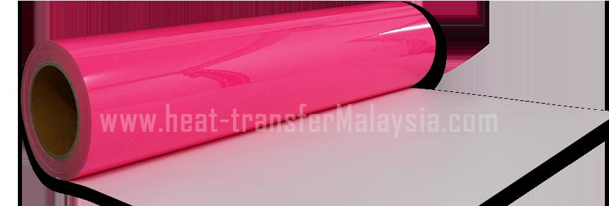 Neon Pink - PU Heat Transfer Vinyl