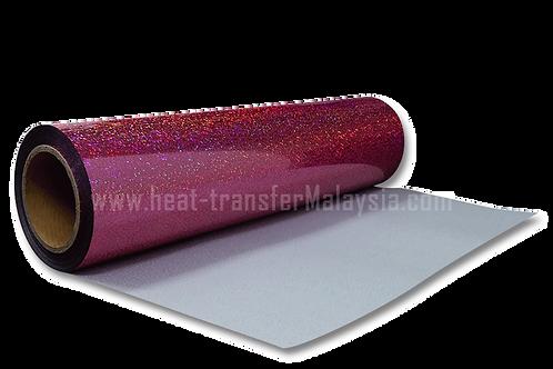 Pink - Hologram Heat Transfer Vinyl