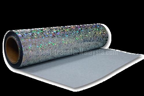 Crystal Silver - Hologram Heat Transfer Vinyl