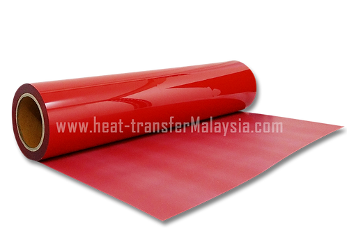 Red - PVC Heat Transfer Vinyl