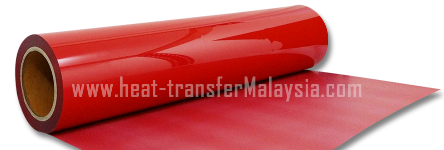 Red - PVC Heat Transfer Vinyl