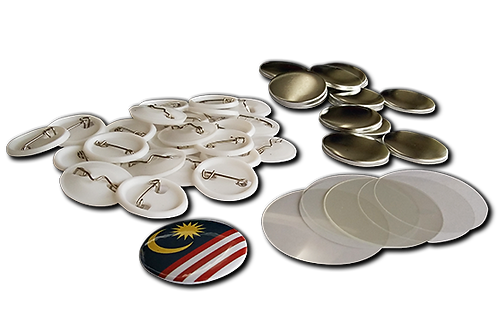Pin Button Badge Parts - Dia. 25 mm