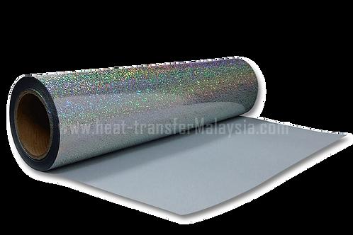 Silver - Hologram Heat Transfer Vinyl