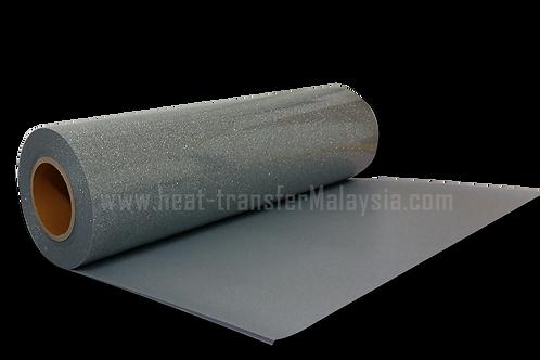 Silver - Glitter / Flake Heat Transfer Vinyl