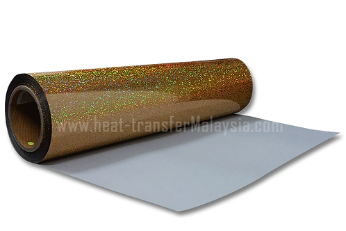 Gold - Hologram Heat Transfer Vinyl