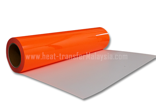 Neon Orange - PU Heat Transfer Vinyl