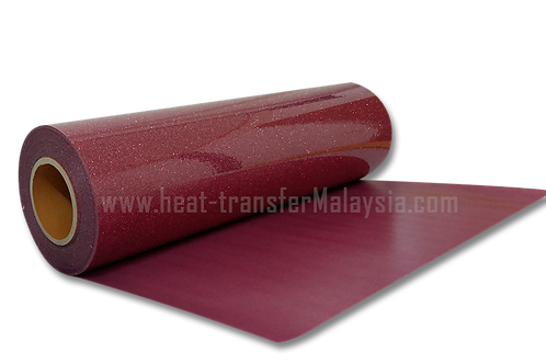Blush (Pink) - Glitter / Flake Heat Transfer Vinyl
