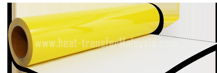 Lemon Yellow - PU Heat Transfer Vinyl