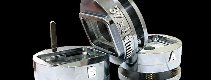 Button Mould - Rectangle 37 x 58 mm