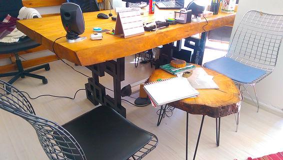 Dekoratif Ofis Masa Ayakları