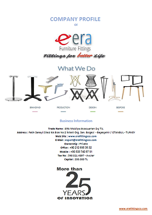 ERA Table Bases Catalogue
