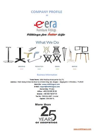 ERA Table Bases Catalogue