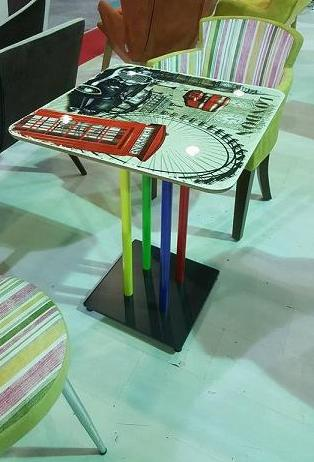 Colorful Table Leg&Base