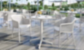 Folding Table Bases for Restaurants