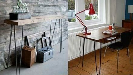 Hairpin Legs for Beds, Sofas , Dining Tables , Side Table , Coffee Tables ...