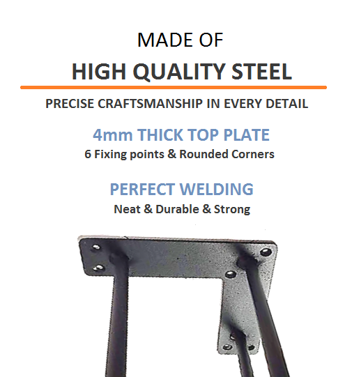 High Quality Hairpin Table Legs