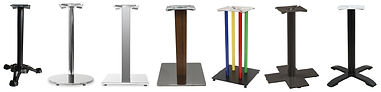 Restaurant Table Bases | Cafe Table Bases | Table Bases