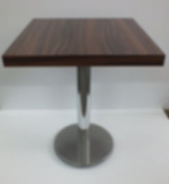 Table Legs for restaurants , cafes , hotels , bistros with mdf top