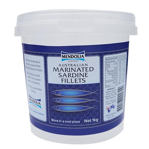 Australian Marinated Sardine Fillets  1kg