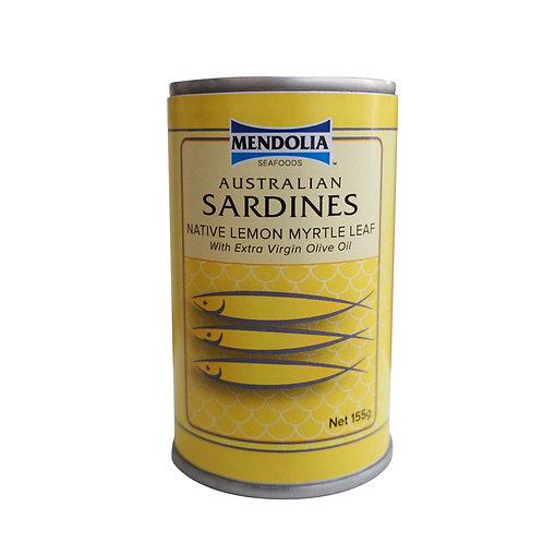 Australian Sardines with Native Lemon Myrtle Leaf  155g