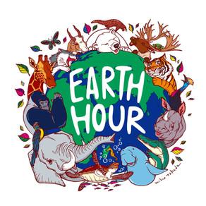 WWFジャパン EARTH HOUR2020 イベント販売用グッズイラスト