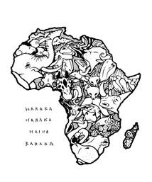 アフリカ大陸