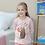 Thumbnail: Трикотажный домашний костюм- пижама с кроликом