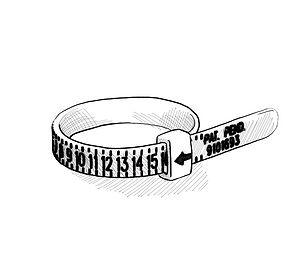 Ringgrösse zu Hause bestimmen, messen, Ringmass bestellen, kaufen, onlineshop