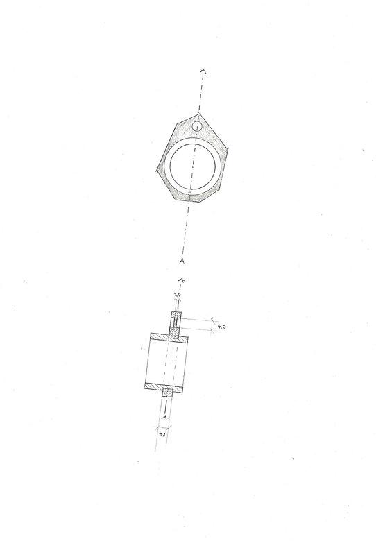Schmuckzeichnung, Ring, technische Zeichnung, Auraria Artis Goldschmied, Damaris Rohner