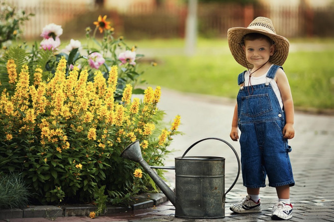 Why Gardening is Great for Children