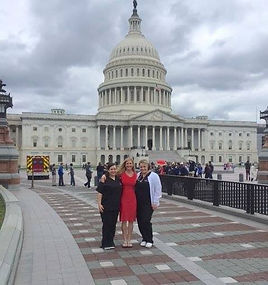 Let Mommy Sleep team lobbies for postpartum care on Capitol Hill.