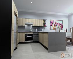 Kitchen, view 3