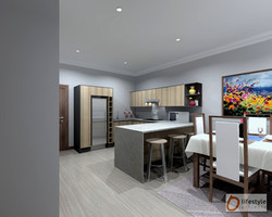 Kitchen, view 1-4