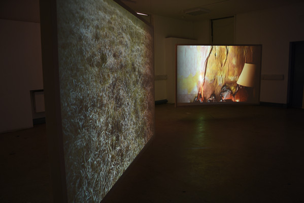 Screen projection installation