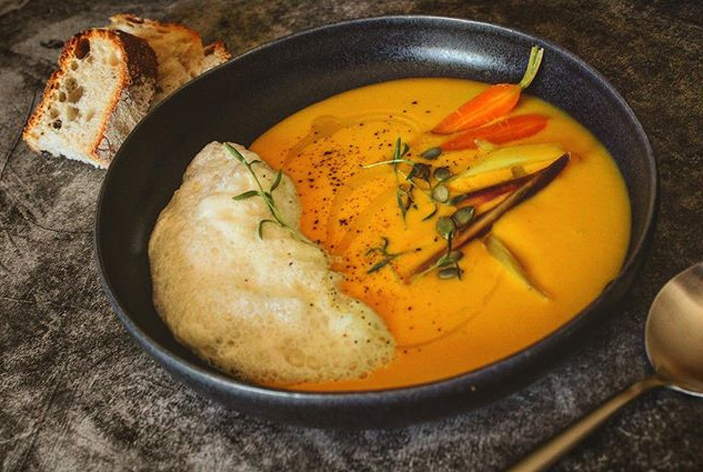 This is our butternut squash cream with